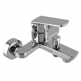 Смеситель для ванны TOPAZ LEXI TL 21101-H57-0 cartridge D35, хром комплект с душем