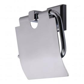 Держатель для туалетной бумаги с крышкой Латунь TOPAZ TКВ 9926