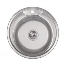Кухонная мойка Lidz 490-A Polish 0,6 мм LIDZ490A06POL