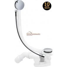 Сифон для ванны полуавтомат VIEGA 285357 Simplex