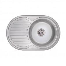 Кухонная мойка Lidz 7750 Polish 0,8 мм LIDZ7750POL