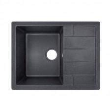Кухонная мойка Lidz 650x500/200 BLA-03 LIDZBLA03650500200