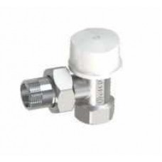 "Кран для радиатора угловой 1/2"" под термоголовку Arco Spain TB501275  M30"