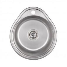 Кухонная мойка Lidz 4843 Decor 0,8 мм LIDZ484306DEC
