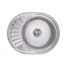 Кухонная мойка Lidz 6044 Polish 0,6 мм LIDZ604406POL