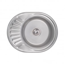 Кухонная мойка Lidz 6044 Satin 0,6 мм LIDZ604406SAT