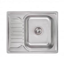 Кухонная мойка Lidz 5848 Satin 0,8 мм LIDZ5848SAT
