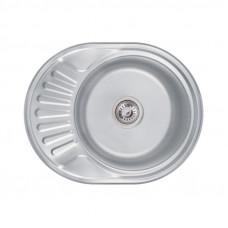 Кухонная мойка Lidz 6044 Decor 0,6 мм LIDZ604406DEC