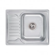 Кухонная мойка Lidz 5848 Decor 0,8 мм LIDZ5848DEC