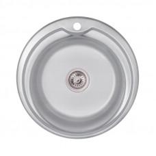 Кухонная мойка Lidz 510-D Decor 0,8 мм LIDZ510DDEC