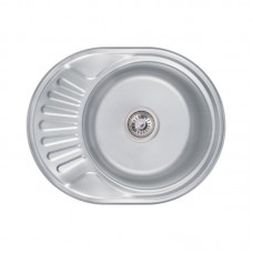 Кухонная мойка Lidz 6044 Decor 0,8 мм LIDZ6044DEC