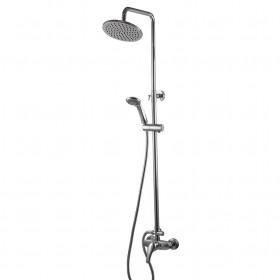 Душевая система Globus Lux GLSO-0044 Solly Латунь, комплект с тропическим душем