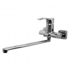 Смеситель для ванны Globus Lux QUEENSLAND GLQU-208 EURO латунь L350мм, картридж Sedal, комплект с душем