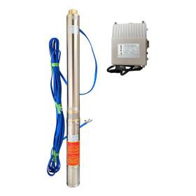 Скважинный насос OPTIMA 3.5SDm2/13 0.55кВт 73м + пульт + кабель 15м