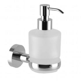 SP 8133 Дозатор жидкого мыла навесной стекло/метал ЛАТУНЬ