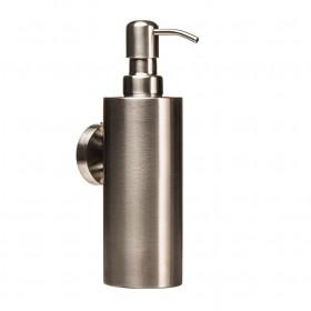 Дозатор жидкого мыла навесной Металл Нержавейка Globus Lux SS8432