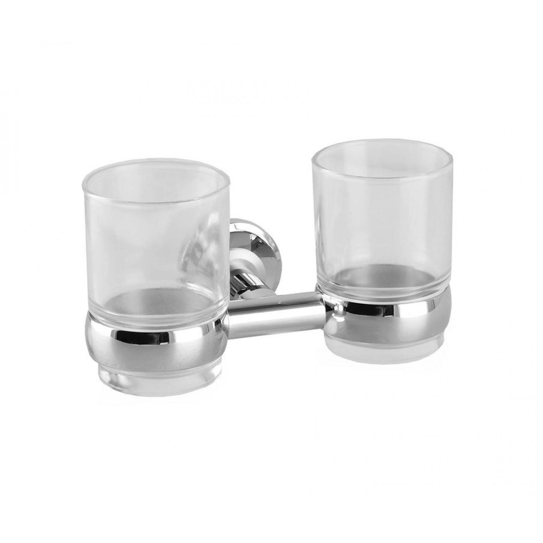 YL 5801 Стакан двойной стекло, Латунь