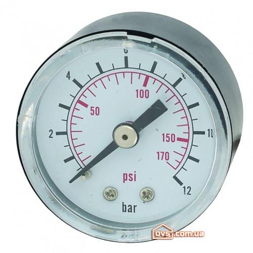 Манометр для контроллера 12 бар 40мм Katran