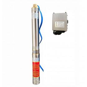 Скважинный насос OPTIMA 3SDm1.8/15 0.37 кВт 61м + пульт + кабель 1,5м