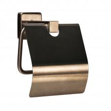 Держатель для туалетной бумаги с крышкой Нержавейка Globus Lux SQ 9410