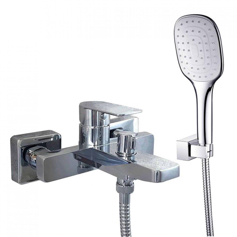 Смеситель для ванны TOPAZ SARDINIA TS 08131-H19N EURO cartridge D35, комплект с душем