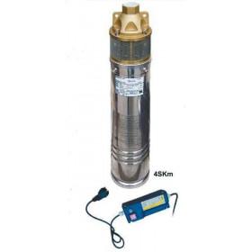 Насос скважинный вихревой VOLKS pumpe 4SKm150 1.1кВт + пульт + кабель 15м