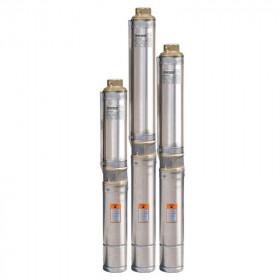 Скважинный насос Насосы+  БЦП 1,8-35У + 25м кабеля + стальной трос 25м + пульт