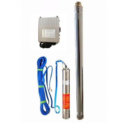 Скважинный насос OPTIMA 3SDm2.5/30 1.1кВт 124м + пульт + кабель 15м