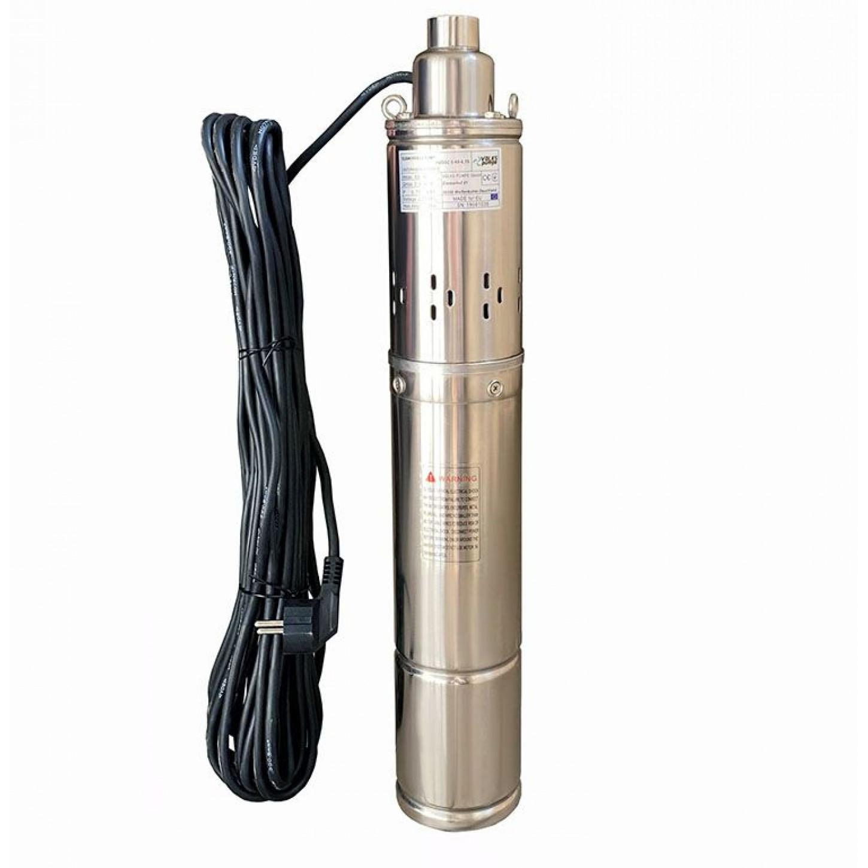 Скважинный насос шнековый VOLKS pumpe 4QGD 2.5-60 0.75кВт + кабель 15м