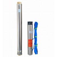 Скважинный насос OPTIMA 4SD16/28 7,5 кВт 153м 3-фазный + кабель 15м
