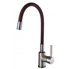 Смеситель для кухни Globus Lux LAZER GLLR-0203SBR-9-Bronze бронза с гибким изливом