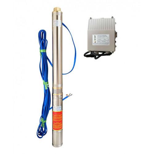Скважинный насос OPTIMA 3.5SDm2/28 1,5кВт 157м + пульт + кабель 15м
