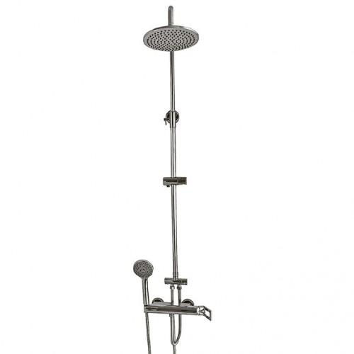 Душевая система Globus Lux GLPH-5555-PHOENIX латунь, комплект с тропическим душем