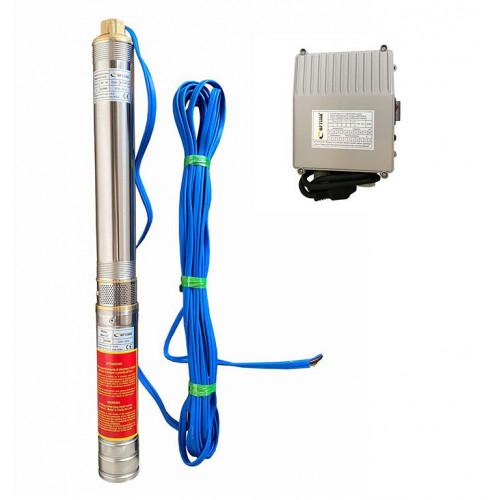 Скважинный насос OPTIMA 3SDm1.8/11 0.25кВт 45м + пульт + кабель 15м