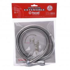 Шланг для гигиенического душа 100см-130см TUCAI 4116 STAINLESS STEEL растяжной, усиленный, made in SPAIN