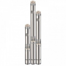 Скважинный насос Насосы+ 100SWS2-140-1,5  + муфта + кабель 2м, со встроенным конденсатором