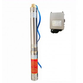 Скважинный насос OPTIMA 3SDm1.8/27 0.75 кВт 115м + пульт + кабель 1,5м