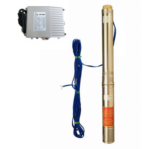 Скважинный насос OPTIMA 4SDm6/11 1.1кВт 69м + пульт + кабель 15м