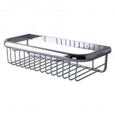 Полка в ванную TOPAZ 4101 прямая Одинарная Латунь