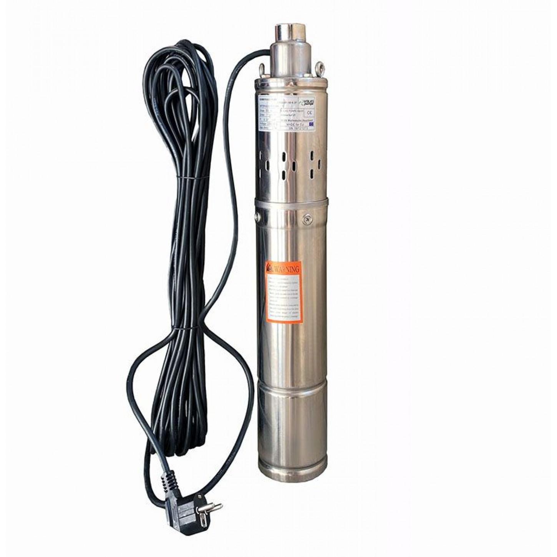 Скважинный насос шнековый VOLKS pumpe 3,5QGD 1-50 0.37кВт + кабель 15м