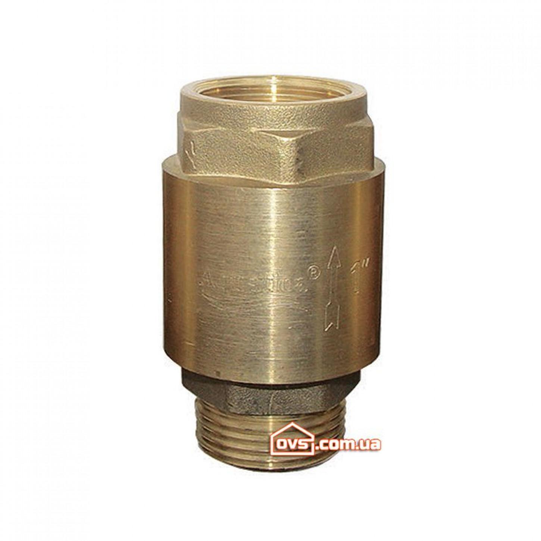 """Обратный клапан 1""""Mx1""""F латунь euro Aquatica VSK2.2"""