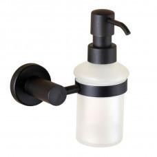 Дозатор жидкокго мыла Черний Мат. Стекло Мат. Globus Lux BS8433