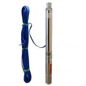 Насос скважинный OPTIMA PM 3.5SDm3/13 0.55 кВт 79м + кабель 50м, со встроенным конденсатором (без пульта)