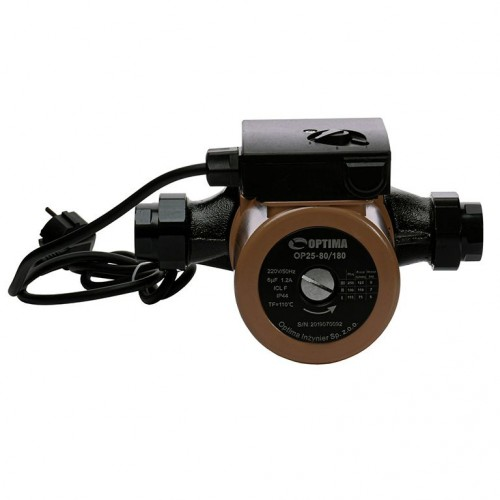 Циркуляционный насос OP25-80 180мм Optima с кабелем и евровилкой