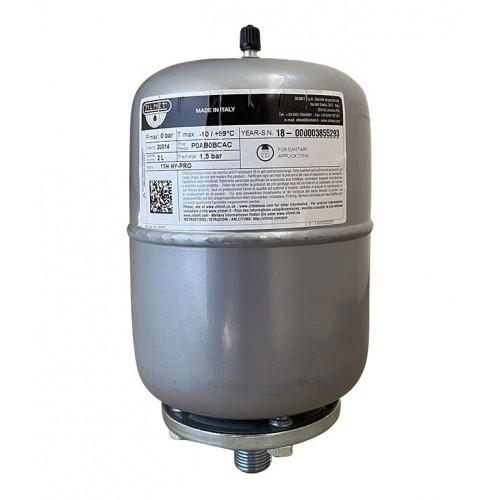 Гидроаккумулятор cо сменной мембраной 2л ZILMET HY-PRO 10bar, белый