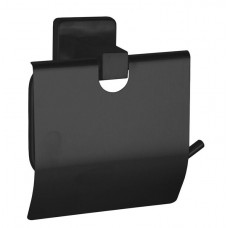 Держатель для туалетной бумаги с крышкой Нержавейка Globus Lux BQ9410