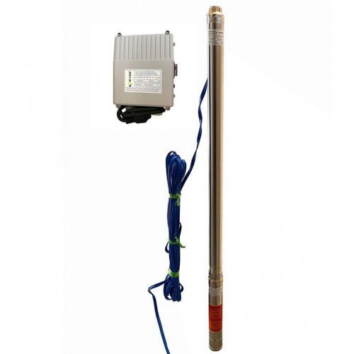 Скважинный насос OPTIMA 2.5SDm1.5/33 0.55кВт 87м + пульт + кабель 15м