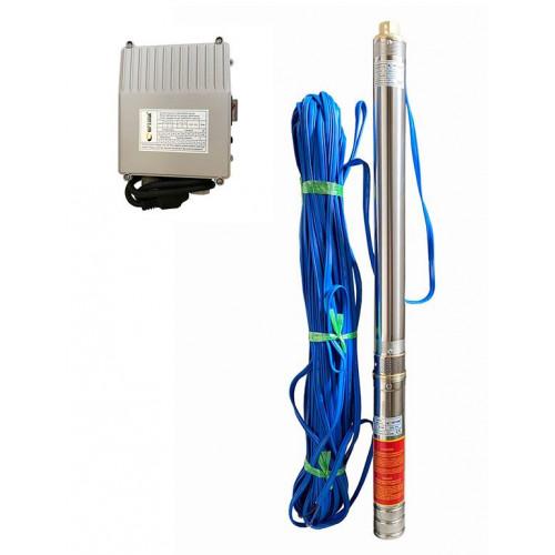 Скважинный насос OPTIMA 3SDm1.8/21 0.55кВт 85м +пульт + кабель 60м