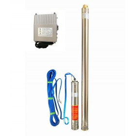 Скважинный насос OPTIMA 3SDm1.8/39 1.1 кВт 159м + пульт + кабель 75м