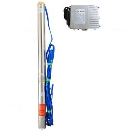 Скважинный насос OPTIMA 4SDm6/20 2.2кВт 126м + пульт + кабель 15м